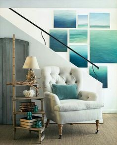 Collection of ocean paintings