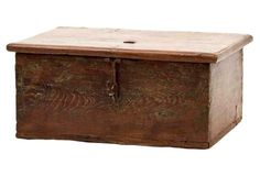 Antique Primitive Cash Box