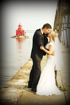 My beautiful niece wedding at Sturgeon Bay Wisconsin/ Dianne Hudson