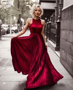 long prom dresses - Pleated Long Burgundy Evening Dress with High Neckline Sexy Party Dress, Dress Up, Gown Dress, Dress Long, High Neckline Dress, Dress Night, Dress Girl, Dress Prom, Dress Casual