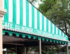 Cafe Du Monde...touristy but I still love it