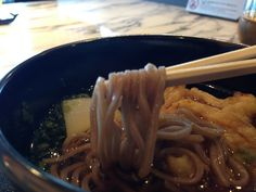 soba from ANA lounge in Haneda intl Airport http://www.flickr.com/photos/official_fuyuhiko/8700614484/