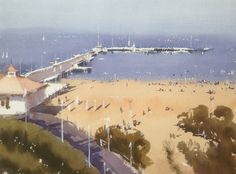 Ian Michael McManus - Watercolour Artist Watercolor Artists, Watercolour, Watercolor Paintings, Gallery, Beach, Outdoor, Watercolor Painting, Pen And Wash, Outdoors