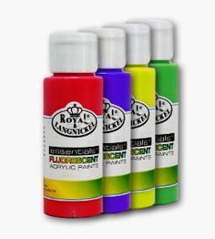 Culoare acrilică Essentials FLUORESCENT 59 ml – Fluorescent Lemon Yellow Lemon Yellow, Essentials