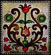 hungarian pattern Chain Stitch Embroidery, Embroidery Stitches, Embroidery Patterns, Hand Embroidery, Hungarian Tattoo, Hungarian Embroidery, Stitch Head, Embroidery For Beginners, Art Journal Inspiration