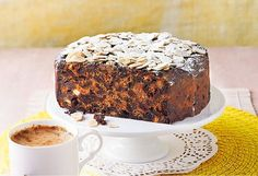 4 ingredient fruit cake............This cake is super moist and very yummy! You could use cranberry, apple or pomegranate juice in place of the orange juice