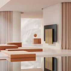 Beovision Harmony - Existiert zum Erstellen - Home - Design Home Design, 3d Interior Design, Set Design, Minimal Design, Modern Design, Bang And Olufsen, Milan Design, Modern Minimalist, Interiores Design