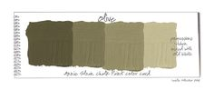 Colorways: Color Swatches
