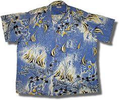 Tropical fish shirt