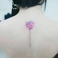 Resultado de imagen para watercolor flower tattoo
