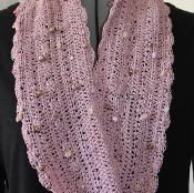 Bejeweled Cowl Scarf Crochet Pattern - via @Craftsy