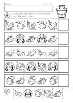Spring Kindergarten Math and Literacy Worksheets & Activities No Prep. - Spring Kindergarten Math and Literacy Worksheets & Activities No Prep. Kindergarten Math Worksheets, Preschool Learning Activities, Preschool Printables, Preschool Lessons, Kids Learning, Kindergarten Prep, Math For Kids, Japanese Language, Spanish Language