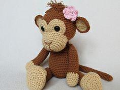 Ravelry: Sweet Monkey Julie pattern by Veronika Maskova (not free pattern, but so cute)