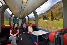 Panoramic train Switzerland