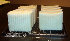 *Simply Handcrafted: Handmade Lavender Eucalyptus Crockpot Soap (uses lard)