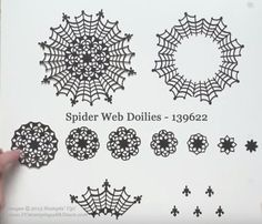 10 Ways Spider Web Doilies shared by Dawn Olchefske #dostamping #stampinup