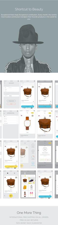 UI/UX Works by Barthelemy Chalvet | Abduzeedo Design Inspiration