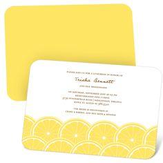 Fun Bridal Shower Invitations -- Sweet Slices | Pear Tree Greetings