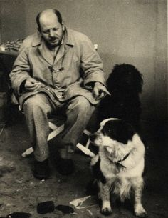 Jackson Pollock with Gyp and Ahab, uncredited