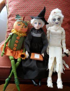 ...A Cloth Doll Maker's Diary...