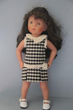 Minouche - robe - couture et crochet
