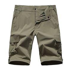 Ανδρικά Pantaloni Scurți de Drumeție Εξωτερική Γρήγορο Στέγνωμα, Anti Transpirație, Ικανότητα να αναπνέει Κοντά Παντελονάκια / Παντελόνια