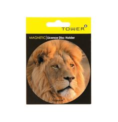 TOWER's range of eye-catching Magnetic Licence Disc Holders are easy-to-use and are reusable so no more scraping off sticky residue from your windscreen when replacing your licence disc. They can also be used as handy fridge magnets or coasters. Office Organisation, Signage, Magnets, Coasters, Africa, Tower, Range, Eye, Animals