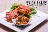 Onion Bhajis. Gluten free, wheat free, egg free, dairy free, gum free, peanut free, almond free recipes. Paleo Friendly.
