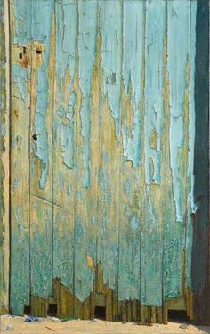 The Blue Door - Geoff Yeomans - Williamson Art Gallery & Museum (21st Century)