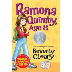 Ramona Quimby, Age 8, HC-9780380709564