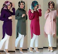 Hulya Aslan hijab fashion looks Casual Hijab Outfit, Hijab Chic, Hijab Dress, Turkish Fashion, Islamic Fashion, Muslim Fashion, Muslim Girls, Muslim Women, Hijab Moda