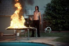 Pin for Later: The Hottest Shirtless Guys in Movies Joseph Gordon-Levitt, Hesher Hesher (Joseph Gordon-Levitt) loves fire almost as much as he hates wearing shirts.