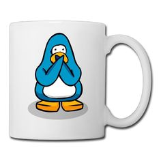 White Funny Penguin Ceramic Travel Mug 11oz Unisex Printed On Both Sides *** Trust me, this is great! Click the image. (This is an amazon affiliate link. I may earn commission from it)