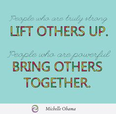 This is one of our favorite Wisdom Wednesday quotes, courtesy of Michelle Obama. Busy Mom Quotes, Sunday Quotes Funny, Funny Quotes For Teens, Funny Quotes About Life, Happy Quotes, Positive Quotes, Motivational Quotes, Inspirational Quotes, Christmas Bible Verses