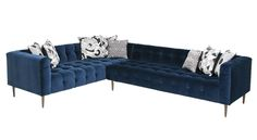 "Dering Hall | Delano Sectional  - Mod Shop | 28"" Height"