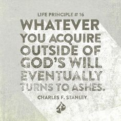 Distractions and temporary pleasures clamor for our attention and time; learn to invest your life in eternal things.  Charles F. Stanley, Inspirational quotes
