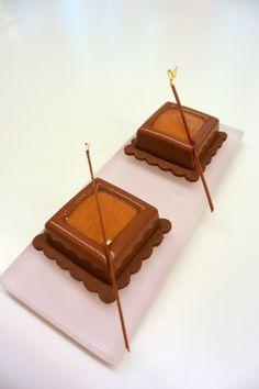 """""""Petits Crok' Chocolat Praliné Noisette"""" réalisés par Marie Meunier lors d'un cours """"Spécial Pâques"""" à la Michalak Masterclass"""