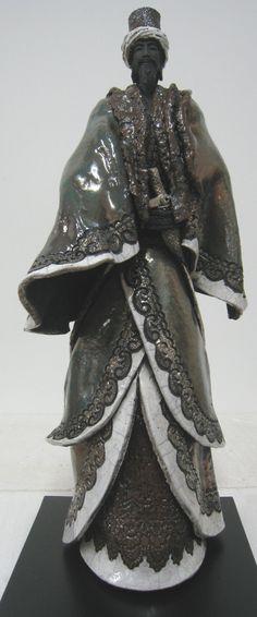 PAUL BECKRICH, sculptures, bronze, raku, ethniques, artiste sculpteur, exposition art contemporain, galerie, toulouse, france