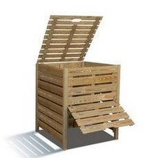 Fabriquer son composteur, c'est facile Make your composter from a pallet and roasting chicken How to build a fauHow to make a table bHow to make a bar