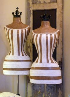 (via M a n n e q u i n s / Dress forms are a thing of beauty!)