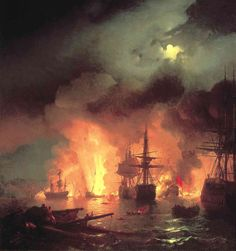 Outstanding Sea Paintings by Ivan Aivazovsky-AmO Images-AmO Images