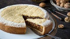 Diskuze Engadinský ořechový koláč skaramelem - Proženy Trifle, Cornbread, Banana Bread, Cooking, Ethnic Recipes, Advent, Posters, Illustrations, Cakes