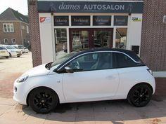Opel ADAM 1.4 Glam € 14.350.- www.damesautosalon.nl #AutoTeKoop