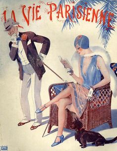 Illustration by Georges Leonnec For La Vie Parisienne February 1928