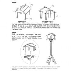 Gallery bird feeding table | RSPB bird tables | RSPB Shop