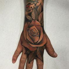Manita de hoy! Gracies Xavi, hecho en @goldstreet.tattoo con material de @barber_dts @barberdts.spain
