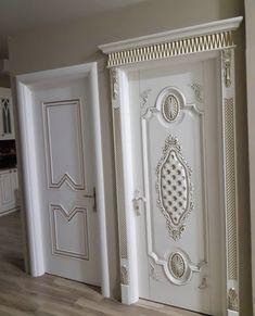 Classic Doors, Faux Walls, Wooden Main Door Design, Pillar Design, House Doors, Wood Doors Interior, Doors Interior Modern, Doors Interior, Wrought Iron Door Inserts