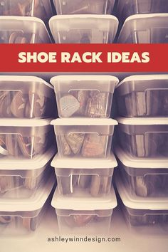 47 Awesome Shoe Rack Ideas (Concepts for Storing Your Shoes) Shoe Rack Ideas – Whether you have a magnificent shoe collection, or simply a great deal of feet in your house, a shoe organizer option is e # Garage Shoe Rack, Shoe Rack Closet, Wood Shoe Rack, Diy Shoe Rack, Shoe Racks, Outdoor Shoe Storage, Under Bed Shoe Storage, Entryway Shoe Storage, Planting Tools