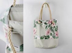 "Tasche . Shopper . ""Felicita"" PINKGRAU von Johnny & June . ""PIMP AND GO!""  auf DaWanda.com"