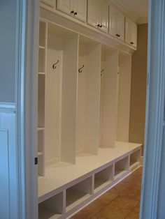 Mudroom with Lockers and Cubbies